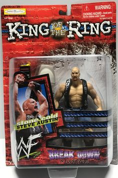 The Angry Spider has the best toys: TAS002007 - 1999 ... Take a look: http://theangryspider.com/products/tas002007-1999-jakks-wwe-wwf-king-of-the-ring-stone-cold-steve-austin?utm_campaign=social_autopilot&utm_source=pin&utm_medium=pin