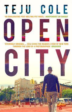 """Open City- Teju Cole    Published by Faber and Faber. Semplicemente perfetta con le """"praise for"""" dei giornali a dare stabilità al lettering..."""