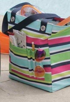 ad914b3ebea9 Thirty-One Gifts – Tall Organizing Tote in the NEW spring print ...