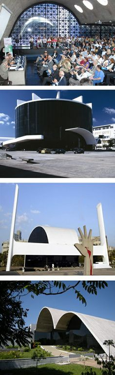 Memorial da América Latina, is a collection of buildings by Oscar Niemeyer and is a hub for everything related to the Latin American continent. São Paulo, Brazil