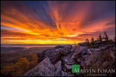 Bear Rocks Explosion...   This is an image from my fall trip to the Bear Rock Preserve in West Virginia last year. On this morning I had the place to myself and was blessed with the most awesome sunrise! Counting the days till my return visit.