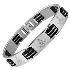 MasonicMan New Mens Titanium Masonic Bracelet Free Link Removal Tool MasonicMan. $42.99. 1000's of satisfied customers worldwide. Free black velvet bracelet box included. Hand crafted from super strong, yet super light weight pure titanium. Free link removal tool - allows you to adjust the size in the comfort of your home