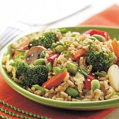 Spicy Vegetable Fried Rice | CookingLight.com
