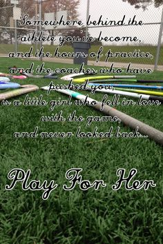 Field Hockey is life.