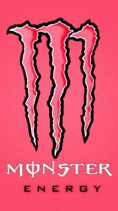 Emo Wallpaper, Iphone Background Wallpaper, Aesthetic Iphone Wallpaper, Aesthetic Wallpapers, Monster Energy Drink Logo, Monster Energy Girls, Bebidas Energéticas Monster, Monster Pictures, Monster Crafts