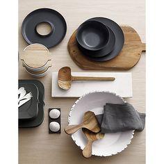 fault serve bowl in table top décor   CB2