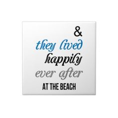 Zazzle Happy At The Beach Ceramic Tile  #zazzle #tiles #beach #relationship