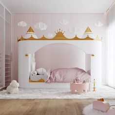 Ultimate Kids Beds | Discover the most incredible kids' beds for the perfect kids themed bedrooms. Go to WWW.CIRCU.NET . . . . . . #circumagicalfurniture #kidsfurniture #kidsroom #kidsbed #kidsbeds #kidsbedroom #luxurykidsfurniture #luxurybed Bedroom Themes, Bedroom Styles, Girls Bedroom, Bedrooms, Inside Celebrity Homes, Cool Beds For Kids, Castle Bed, Princess Room, Pink Bedding