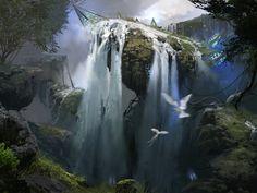 ArtStation - Part the Waterveil, Titus Lunter