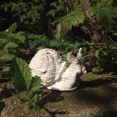 3D printed ceramics #ekwc #clay #snail #ELstudio