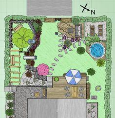 breiter, kurzer Garten: Habt ihr Anregungen zu meiner Planung? - Seite 1 - Gartengestaltung - Mein schöner Garten online