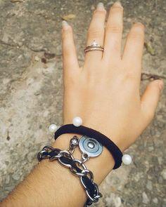 Acessórios ❤  #pulseiras #pretoeprata #amo  #boatardee #semcores #hoje