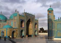 The Blue Mosque of Mazari Sharif