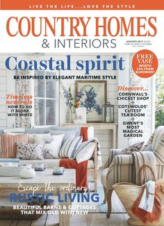 Country homes interiors august 2017