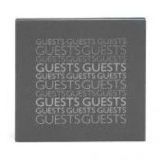 Gästebuch GUESTS grau