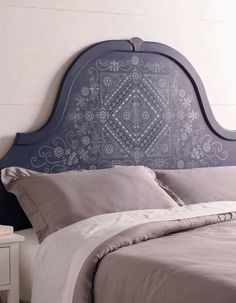Create a beautifully designed headboard using our all-new Batik Stencil Set from Michaels. It looks custom-made, but is actually handcrafted by you! Shop our all-new craft paints and tools available only at Michaels.
