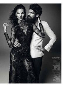 vogue brides alvaro6 Egle Tvirbutaite Poses for Alvaro Beamud Cortes in Vogue Spain Brides