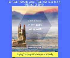 Do you struggle with loving your body just as she is? Listen to our weekly radio show for Law of Attraction style tips to help you learn to love what you see in the mirror with your own eyes! http://flyingthroughlifesober.com/body?utm_campaign=coschedule&utm_source=pinterest&utm_medium=New%20Start%20After%20Divorce