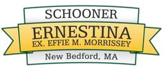 Schooner Ernestina, New Bedford, MA - my hubbie designed this image!!