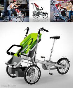 Taga Bike and Stroller
