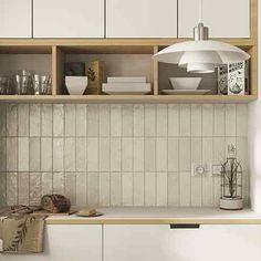 Mallorca By Equipe Wall Tiles - SS Tile and Stone Toronto Metro Tiles Kitchen, Kitchen Backsplash, Backsplash Design, Kitchen Wall Tiles, Küchen Design, House Design, Interior Design, Unique Tile, Scandinavian Kitchen