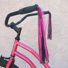 Gleeful Things » DIY Tutorial: Ribbon Bike Streamers