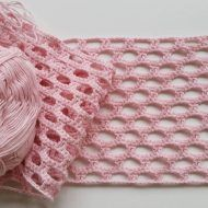Something completely different from what i usually do crochet crochetaddict craftastherapy yarn diy cotton pink virka garn… Crochet Diagram, Crochet Chart, Crochet Motif, Crochet Designs, Crochet Patterns, Crochet Shell Stitch, Bobble Stitch, Diy Crafts Crochet, Crochet Projects