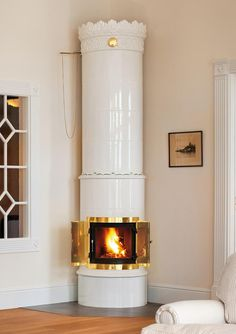 One day, lovely-expensive-traditional-swedish-wood burner, you will be mine...