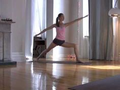 Weight Loss Yoga: Total Body Sweat and Tone   Tara Stiles, she's got some good videos.   Warning: she makes everything look easy!