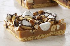 Caramel Crunch Bars recipe