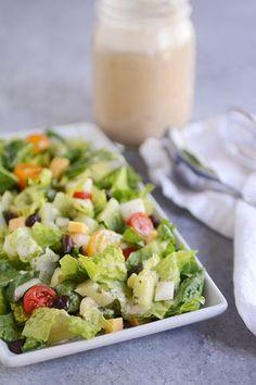 Mexican Chopped Salad with Cilantro Lime Vinaigrette   Mel's Kitchen Cafe   Bloglovin'