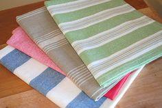 A little bit of quiet: Tea-towel Totes