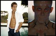 Famous faces under the mask: Ryan Reynolds - X-Men Origins Wolverine
