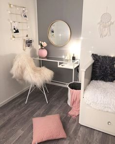 Teen Room Decor Videos - Decoration Home Cute Room Decor, Teen Room Decor, Bedroom Decor, Bedroom Ideas, Bedroom Wall, Wall Decor, Teenage Girl Bedroom Designs, Girls Bedroom, Unique Teen Bedrooms