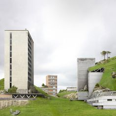 impossible architecture by architectural photographer filip dujardin, 2013    dujardin's photomontages are a collection of impossible structures created using a digital collaging technique from photographs of real buildings in and around ghent, belgium.