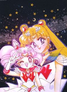 Sailor Moon Usagi and Chibiusa