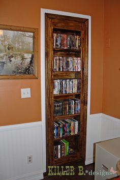 Gun Cabinet Hidden Behind A Bookshelfweve Been Wanting To Do This