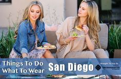 What To Wear In San Diego This Spring | Things to do in San Diego for tourists! #fashion #style #food