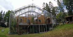 The Naturhus greenhouse