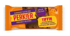 PERK!ER Tiffin bars made with biscuit, crunchy honeycomb & raisins, all smothered with Belgium milk chocolate