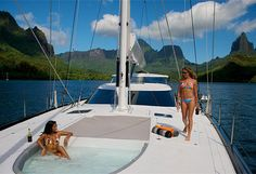 Live your dream in ‪#‎Tahiti‬! ‪#‎YachtcharterFranzosisch‬ ‪#‎YachtcharterRaiatea‬