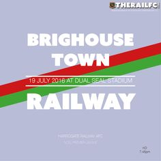 Next Match: Brighouse Town away    @therailfc @brighousetownfc #Harrogate @NCEL #NCEL