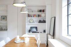 Компактные скрытые столы, которые можно без труда сложить, сделав пространство более свободным и открытым