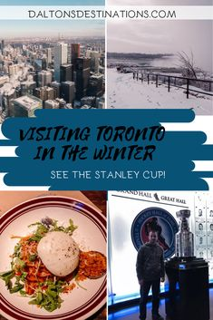 If you are planning to travel to Toronto be sure to check out this travel guide! Including places to see, best places to eat, and where to stay Canada Toronto City, Toronto Cn Tower, Toronto Winter, Toronto Vacation, Toronto Travel, Toronto Skyline, Downtown Toronto, Visiting Niagara Falls, Visit Toronto