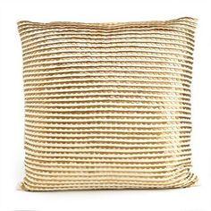 a fabulous gold pillow