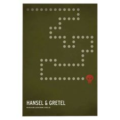 Hansel and Gretel Unframed Wall Canvas Christian Jackson
