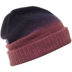Linea Ombre knit beanie ($4.38) ❤ liked on Polyvore featuring accessories, hats, beanies, head, headwear, purple, hats & hair accessories, knit hat, knit beanie caps and beanie hat