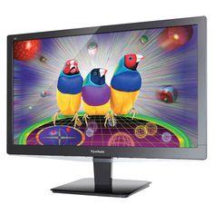 "Viewsonic VX2475Smhl-4K 24"" LED LCD Monitor - 16:9 - 3 ms - 3840 x 2160 - 16.7 Million Colors - 250 Nit - 120,000,000:1 - 4K UHD - Speakers - HDMI - MonitorPort - 30 W - Black - ENERGY STAR, China RoHS"