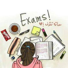 I hate exam study school😣😒👎💔📝📚 on We Heart It Cartoon Girl Images, Girl Cartoon, Cartoon Art, Cartoon Sketches, Exam Wallpaper, Studying Girl, Sarra Art, Exam Quotes, Math Quotes