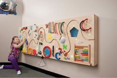 Ideas for interactive Sensory Wall